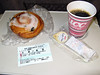 On board refreshments - much like British Rail!