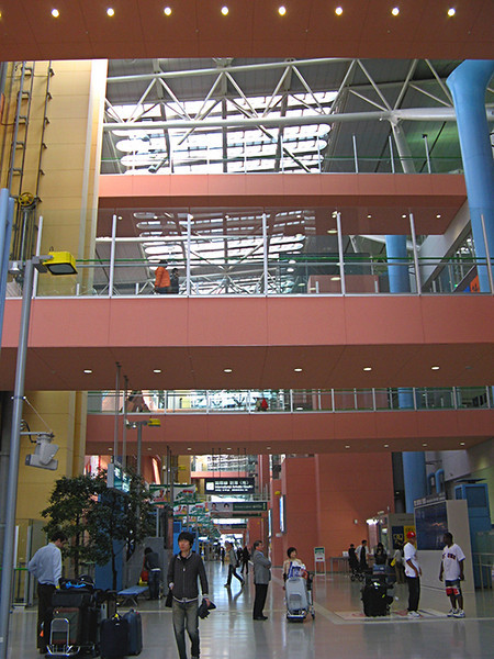 Main hall of Osaka airport