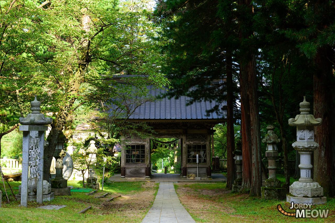 Temple in Azumino