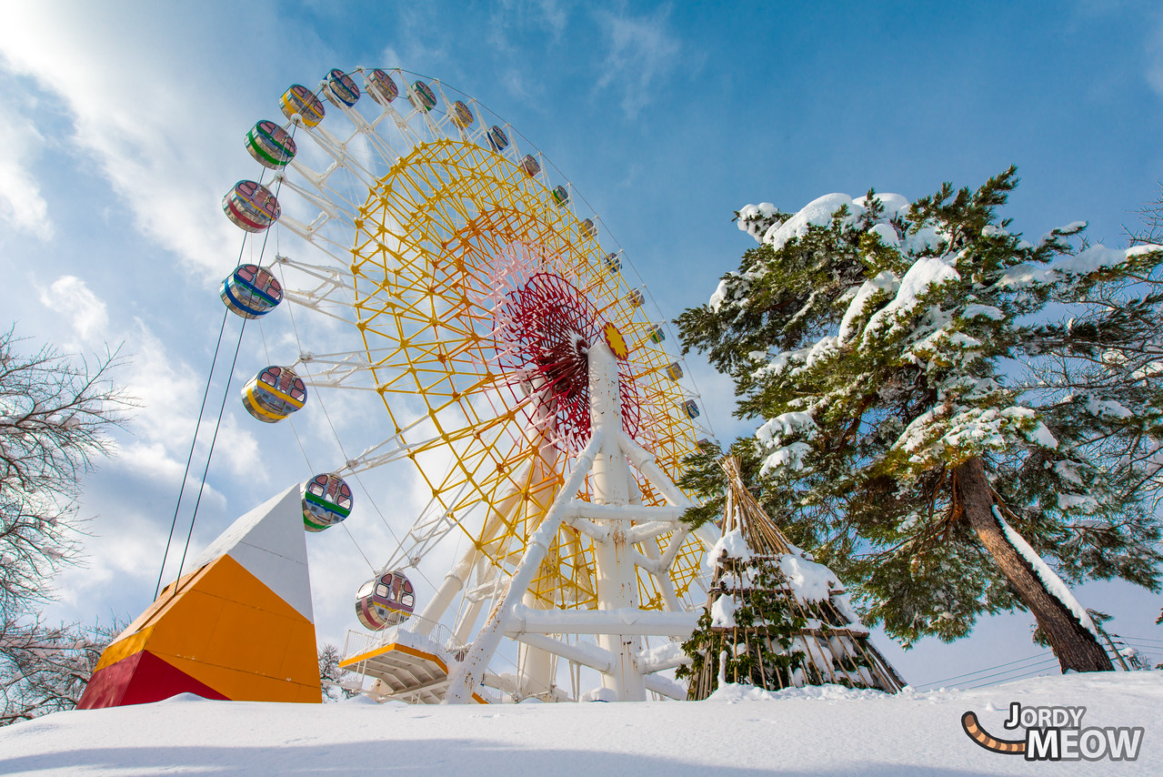 Ferris-Wheel in Snowland