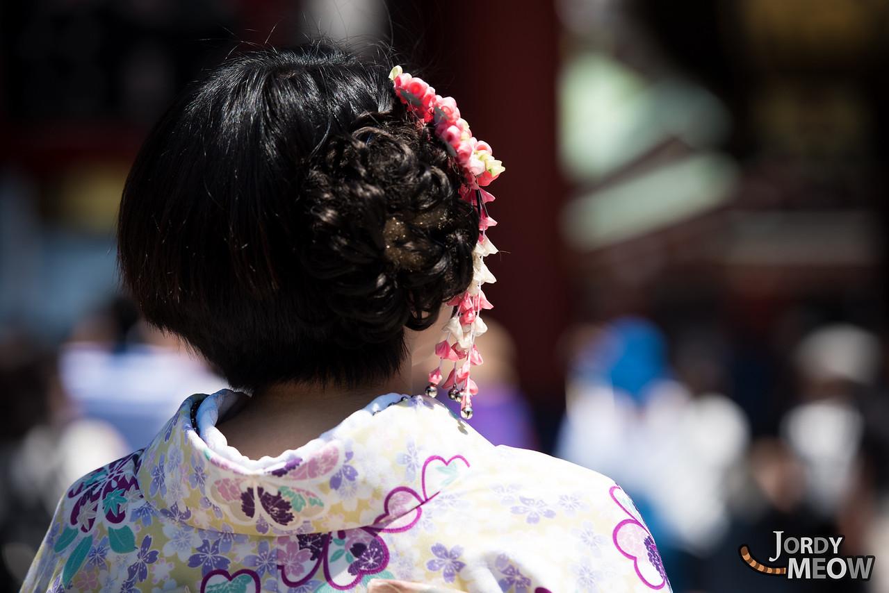 Kimono in Asakusa