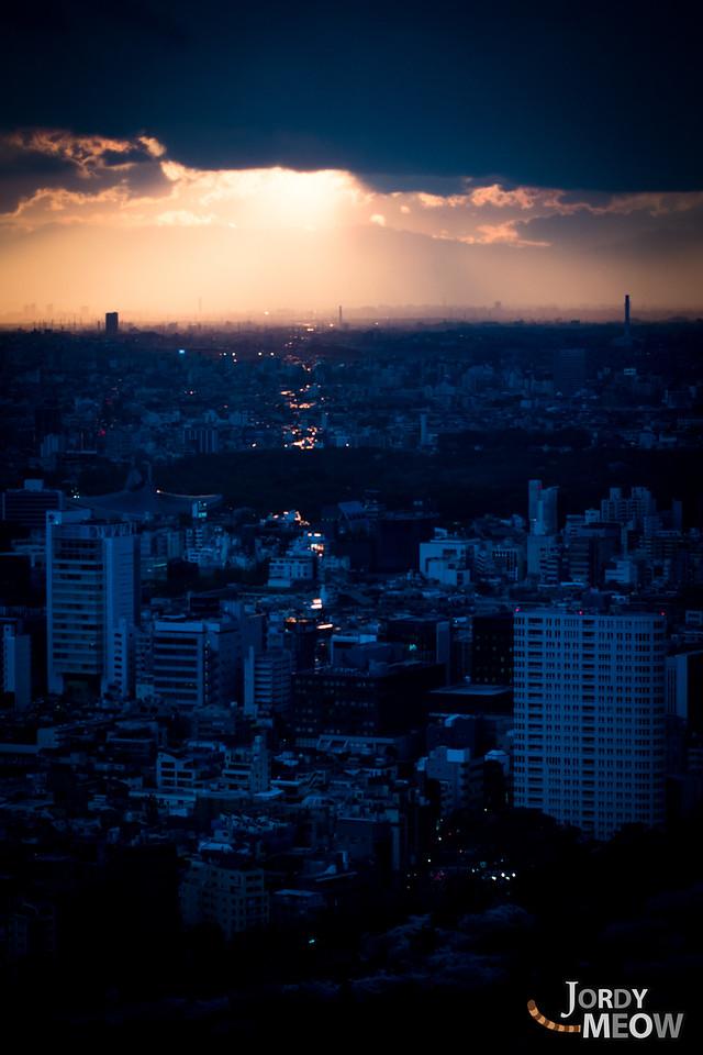 After the Rain: Glittering Sunset