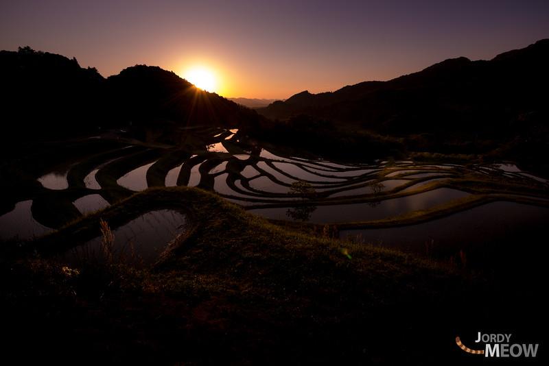 Sunrise on Oyama Senmaida