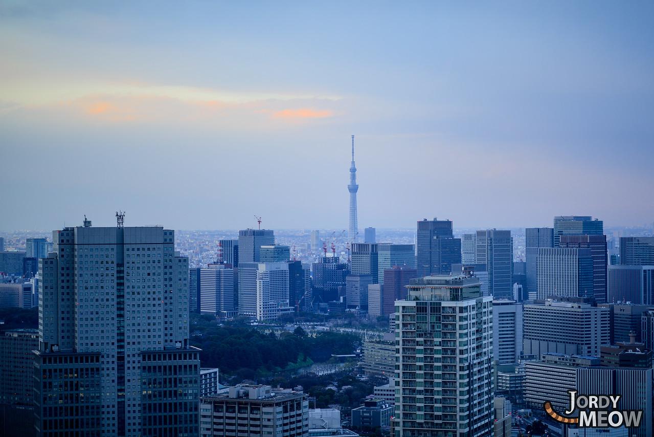Blue Velvet Skytree