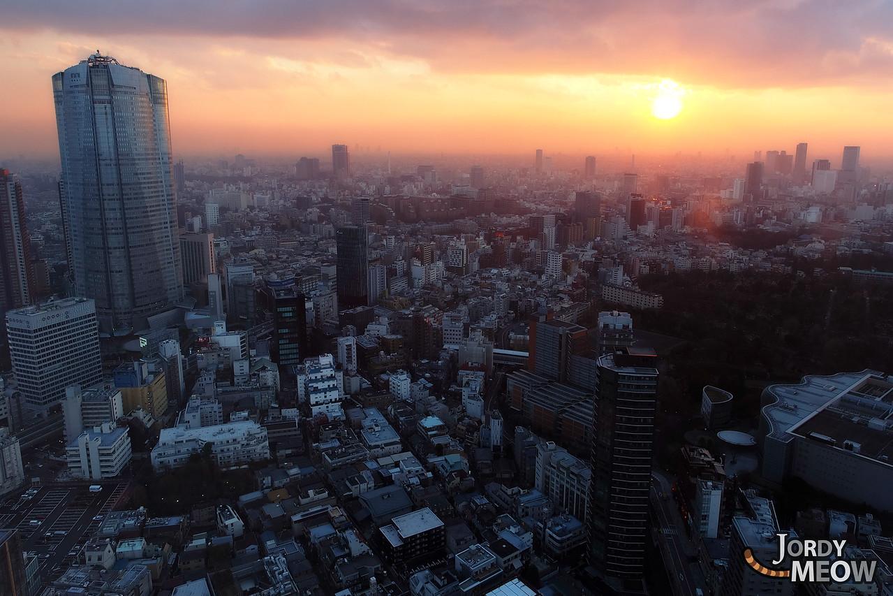 Tokyo's Last Sunset