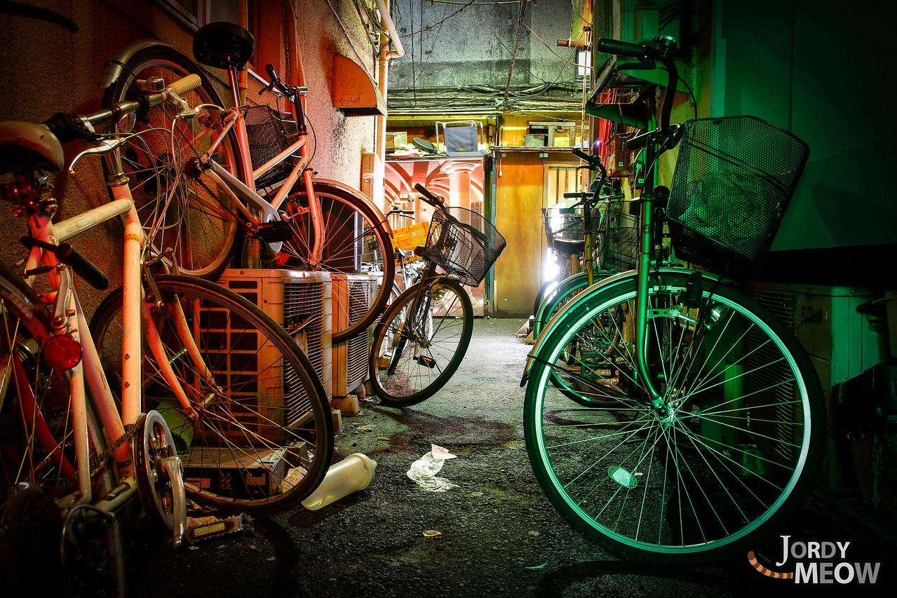 Les Petits Vélos de Golden Gai
