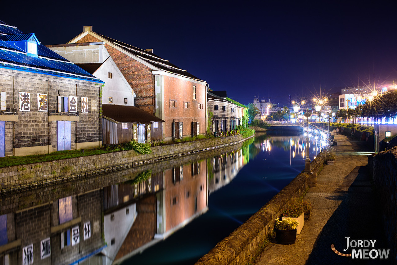 Quiet Walk at Otaru