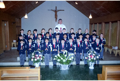 Emile's class Graduation Day at St. Mary's.
