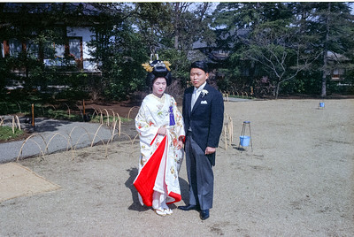 TOM AND NANAE KODAKA WEDDING---SPRING 1966