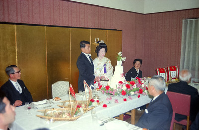 Tom and Nanae wedding-Tokyo 1966