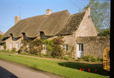 A nearby the Inn cottage in Stoford village with its lovely thatched roof.