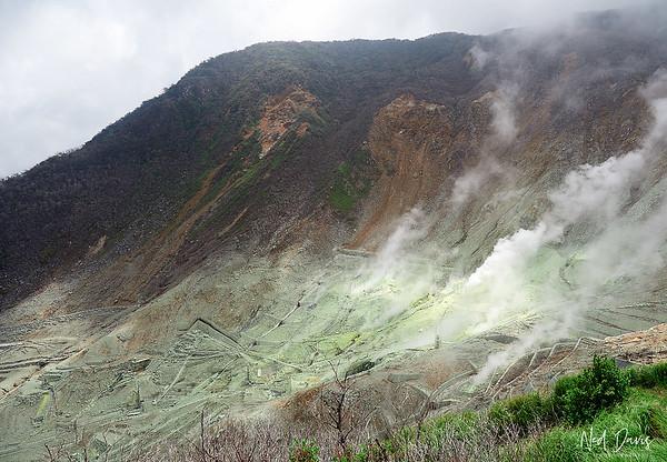 Ōwakudani Valley, Japan