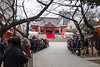I joined the crowd at Hanazono Shrine on Setsubun, known best as the Bean-Throwing Festival.