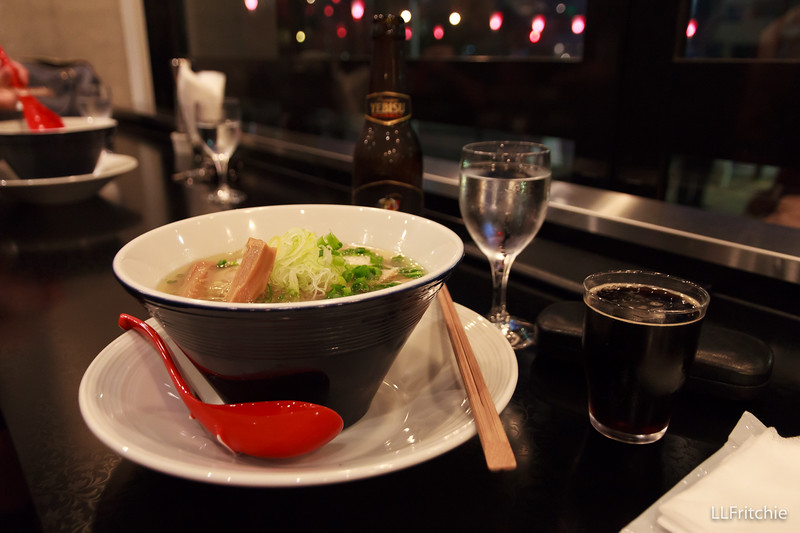 For dinner, we ate at a ramen restaurant (Morizumi: The Noodle Bar) at the base of the hill. Mmm!