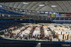 All items related to tableware filled the entire floor of the Tokyo Dome.