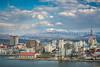 The port city of Aomori, northern Japan, Tōhoku region.