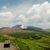 Trekking around Mount Aso