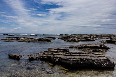 Rocks at low tide at Shirahama 白浜