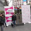 Hachiko statue in front of Shibuya Station, Shibuya, Tokyo
