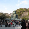 Giant Buddha statue in Kamakura