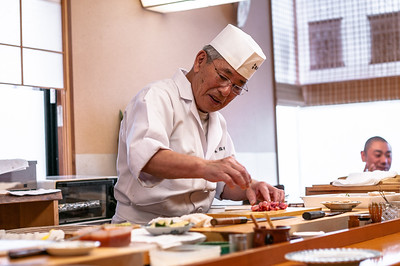 BEST Sushi ever! Komatsu Yasuke 小松 弥助