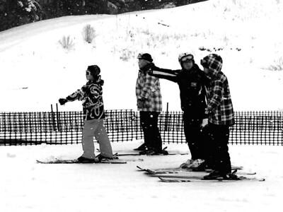 Ski lesson, Karuizawa