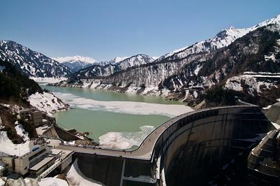 Kurobe Dam 黒部ダム