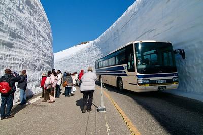 Snow Corridor, Murodo 室堂