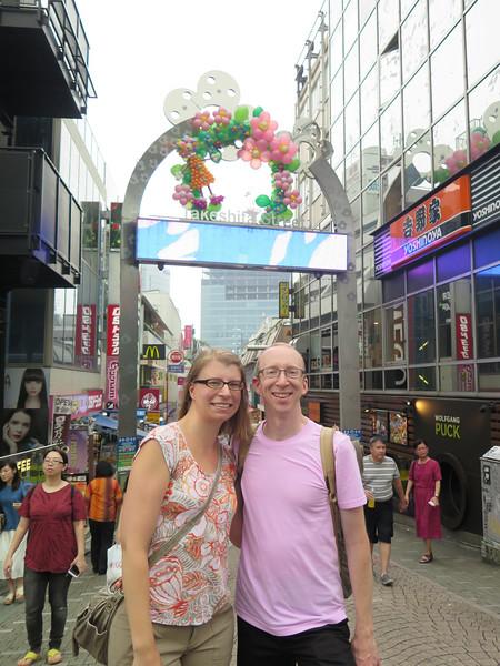 Day 2: Takeshita Street