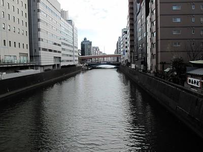 Walking from Kanda to Akihabara you cross the Kanda gawa