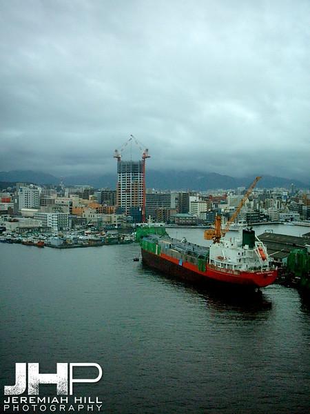 """""""Shipping Yard"""", Fukuoka, Japan, 2006 Print PMJB-010"""