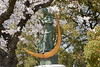 Statue of a prayer for peace, Peace Memorial Park, Hiroshima, Mon 1 April 2019 2.