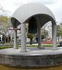 Peace bell, Peace Memorial Park, Hiroshima, Mon 1 April 2019