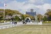 Peace Memorial Park, Hiroshima, Mon 1 April 2019.