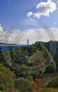 Hitachiota Ibaraki Ryujin Suspension Bridge Autumn Viewpoint Panorama Fine Art Photo Sale - 013945 - 30-10-2013 - 6496x10219 Pixel
