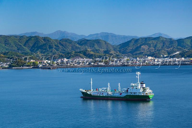 The Hososhima, Myazaki port, on the eastern coast of the Miyazaki Prefecture of Kyushu, Japan.
