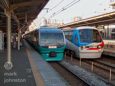 Izu Trains at Atami Station