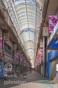 Shopping district, Ito, Japan
