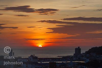 Sunrise, Ito, Japan