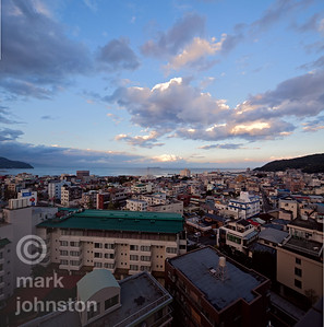 Ito City and Sagami Bay, Japan