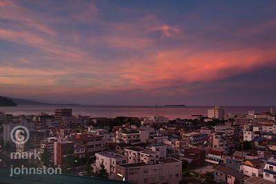 Ito City and Sagami Bay, Japan