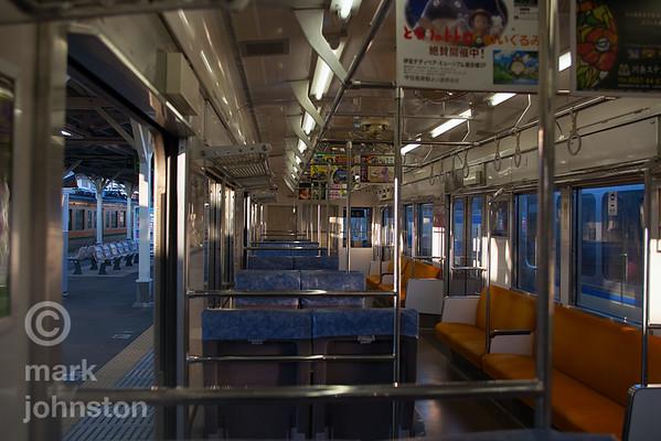Local train, Ito, Japan