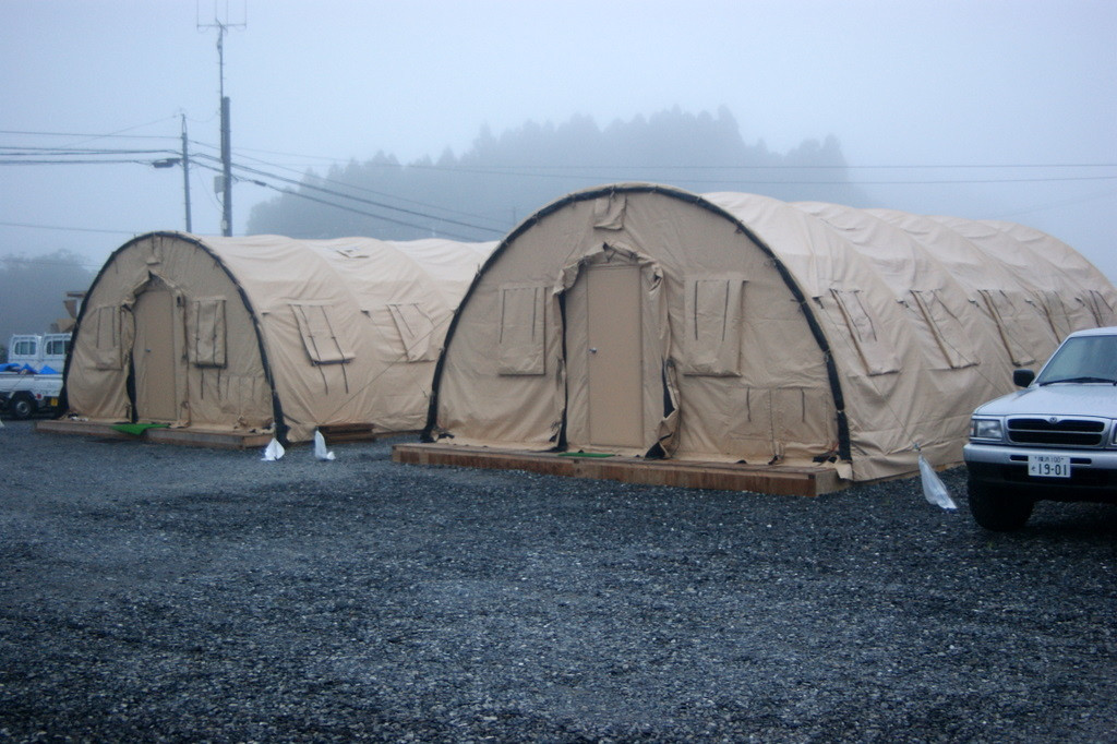 Photo By Bob Bodnar..................Our sleeping Quarters for the Month