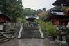 Young boy with umbrella<br /> <br /> Sengen Jinja, Mount Shizuhata, Shizuoka, Japan