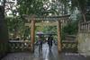Torii-gate-leading-to-the-grave-of-Tokugawa-Ieyasu,-Tosho-gu-Shinto-Shrine,-Shizuoka,-Japan