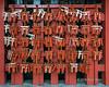 Red torii gates