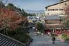 Matsubara Dori street leading to Kiyomizu Dori, Kyoto, Japan