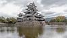 Matsumoto Castle from the Uzumibashi side, Nagano, Japan
