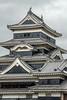 Close-up of Matsumoto (Black Crow) Castle, Nagano, Japan