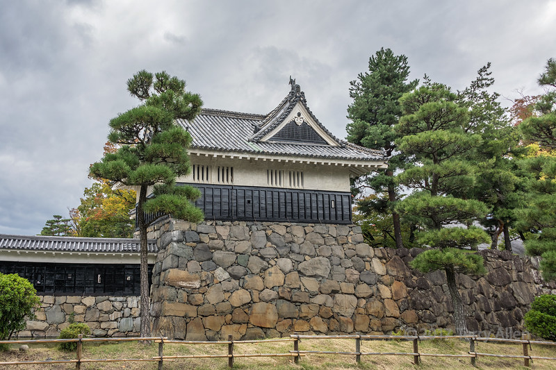 Matsumoto castle (Black Crow), Kurumon, Nagano, Japan